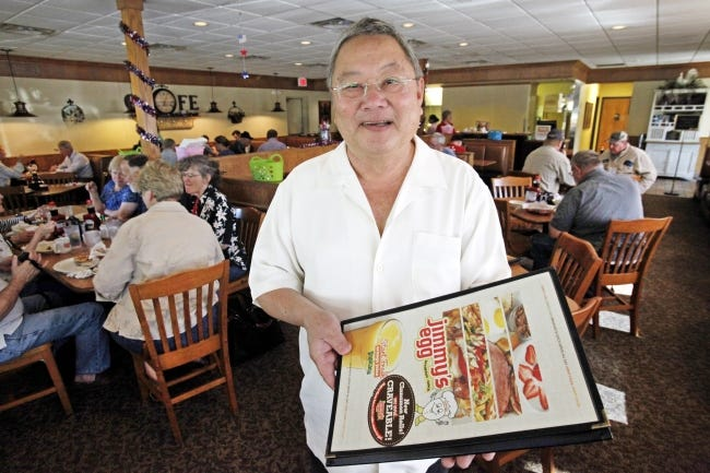 Loc Le, who purchased on Jimmy's Egg restaurant in 1980 and turned it into a multistate chain passed away on Thursday. [Oklahoman Archives]