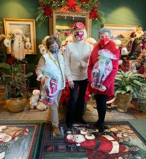 Sylvia Slater, Judy Love, Gennie Johnson. PHOTO PROVIDED