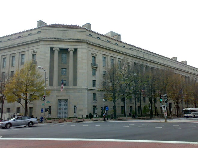U.S. Department of Justice. Wikicommons