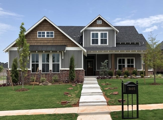 High home equity rates help protect property owners from losing their homes to foreclosure, and give others funds to draw out for home improvements. Pictured is a home by McCaleb Homes in Edmond. [RICHARD MIZE/THE OKLAHOMAN ARCHIVES]
