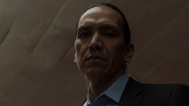 """Michael Greyeyes appears in the Oklahoma-made film """"Wild Indian,"""" by Lyle Mitchell Corbine Jr., which is an official selection of the U.S. Dramatic Competition at the 2021 Sundance Film Festival. The Indigenous actor also will appear in a Jan. 29 panel at Tulsa's Circle Cinema, which is an official Sundance Satellite Screen. [Photo by Eli Born/courtesy of Sundance Institute]"""