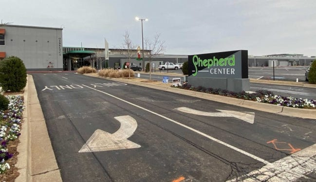 Oklahoma spent about $4.3 million to rent and staff its contact tracing operation at Shepherd Center through October. The state has closed that Oklahoma City location, which opened in June with approximately 400 employees. [Paul Monies/Oklahoma Watch]
