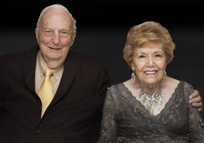75 years: Jim and Jackie Plaxico, of Oklahoma City, were married Dec. 29, 1945.
