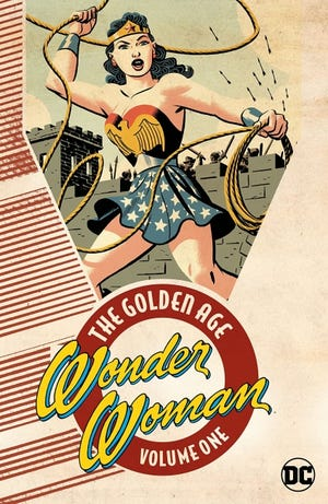 """Wonder Woman's earliest adventures are found in """"Wonder Woman: The Golden Age Vol. 1."""" [DC Comics]"""