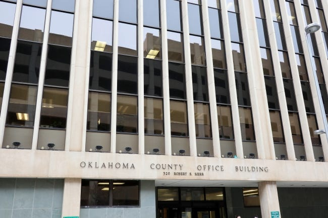 Officials at the Oklahoma County Office Building on Wednesday will whether to give themselves raises. [Photo by Doug Hoke/The Oklahoman]