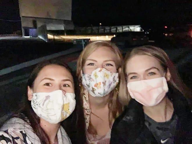 Athen Andrade, Rachel Colleen Leonard and Haley Murta Esche. [PHOTOS PROVIDED]