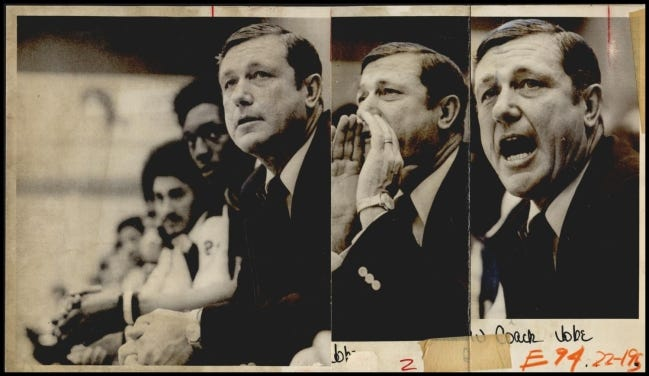 Former Southwestern and Oklahoma Christian basketball coach Jerry Jobe died Saturday at age 85. [OKLAHOMAN ARCHIVES]