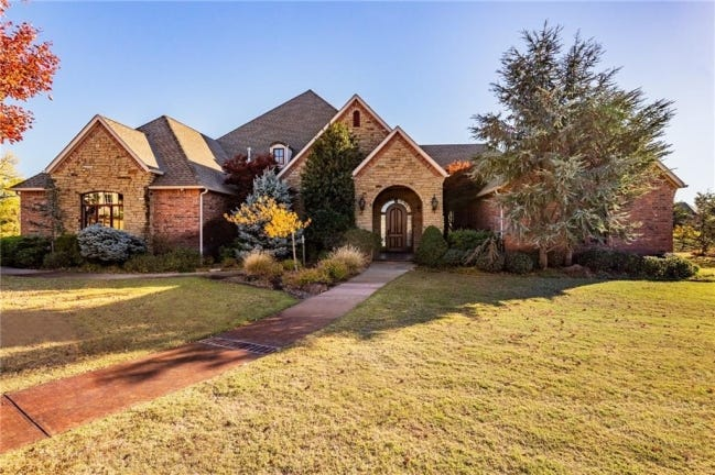 The Listing of the Week is at 21850 Water Oak Circle in Edmond. [PHOTO PROVIDED]