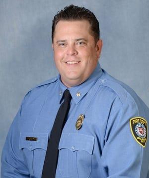 Oklahoma City Fire Maj. Andy Davis