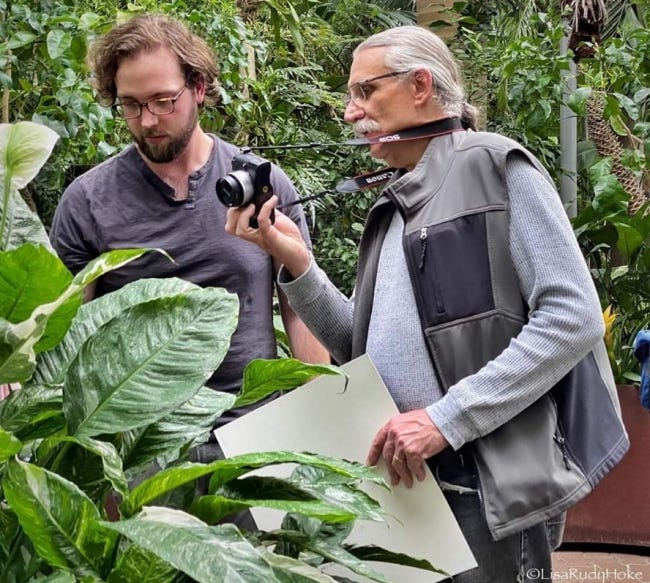 Doug Hoke, right, will lead the Tropical Paradise Photography Workshop 10 a.m.-noon Jan. 30 at Myriad Botanical Gardens. [PHOTO PROVIDED]