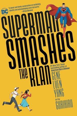 """Superman Smashes the Klan"" updates a Superman radio adventure. [DC Comics]"