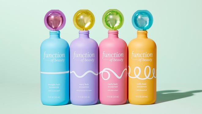 Function of Beauty customized hair care products are now available at Target.