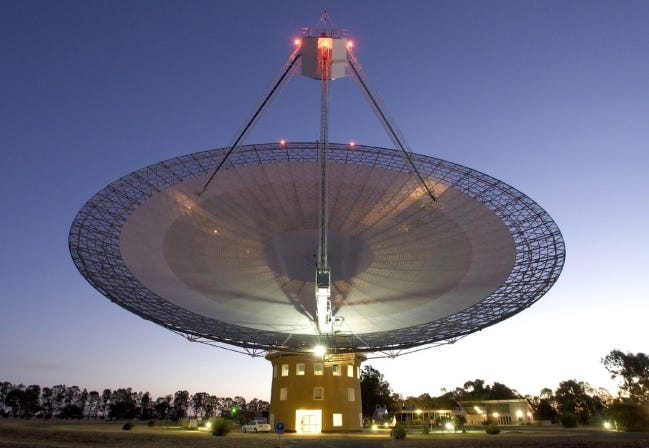 Parkers Radio Telescope in Australia. [NASA]
