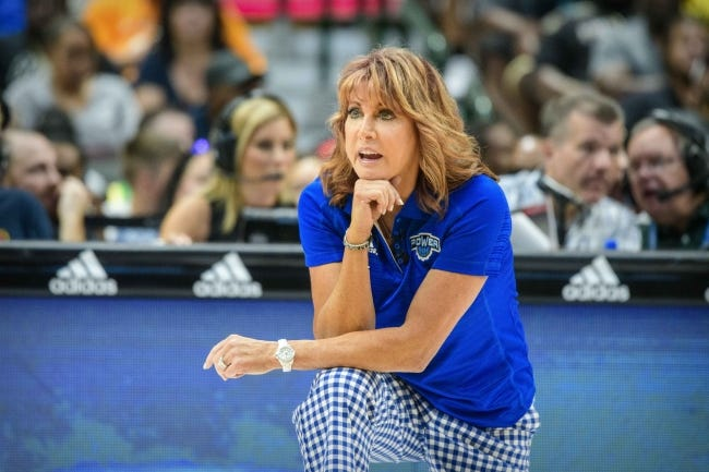 Hall of famer Nancy Lieberman has rejoined the Thunder pregame and postgame broadcasts on Fox Sports Oklahoma. [Jerome Miron/USA TODAY Sports]
