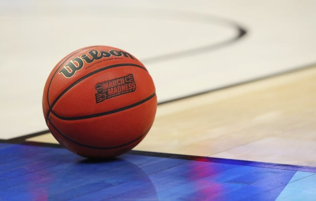The NCAA announced Monday it has finalized plans to hold the entire NCAA men's basketball tournament in Indiana with the majority of the 67 games to be played in Indianapolis. [AP Photo/Bill Wippert, File]