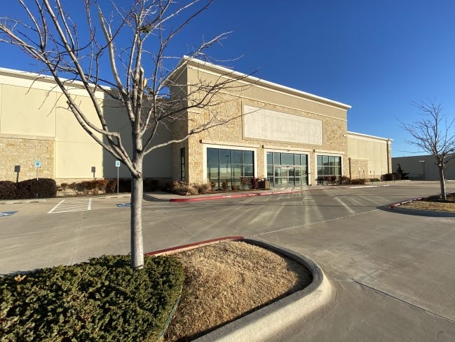 Hobby Lobby just sold its closed Hemispheres store in Moore, and has this one at 2225 NW 140 listed for sale with CBRE. [PHOTO PROVIDED BY CBRE]
