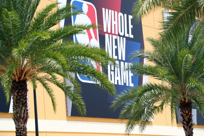 The 2021 G League season will start at the ESPN Wide World of Sports Complex at Disney World. (Kim Klement-USA TODAY Sports)