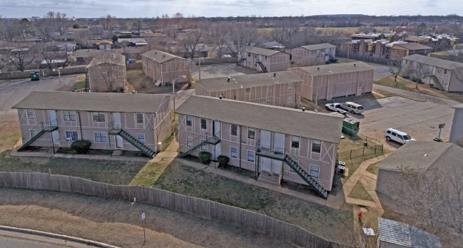 Dallas developers have bought Spring Hill Apartments, 4708 SE 44, for $2.25 million. [PHOTO PROVIDED]