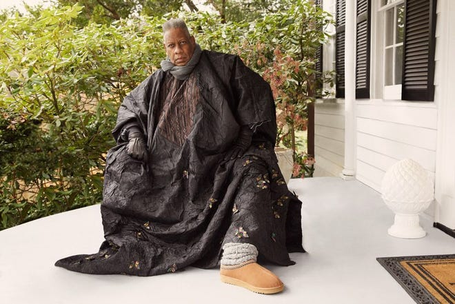 Andre' Leon Talley is the face of a new ad campaign for Ugg.
