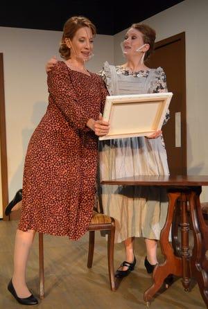 "Debra Rich Gettleman, left, and Renee Krapff star in Carpenter Square Theatre's Season 37 opener, James Sherman's bittersweet comedy ""From Door to Door."" [Photo provided]"