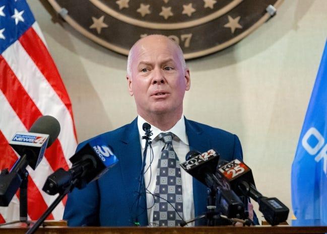 Oklahoma Health Commissioner Dr. Lance Frye [Chris Landsberger/The Oklahoman]