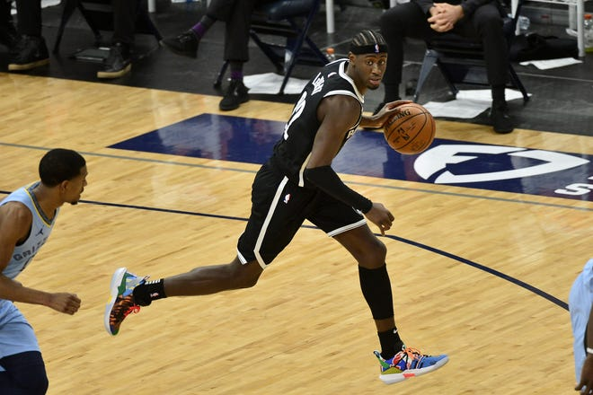 Caris LeVert was acquired by the Indiana Pacers on Wednesday in the deal that sent James Harden to the Brooklyn Nets and Victor Oladipo to the Houston Rockets. [AP Photo/Brandon Dill]