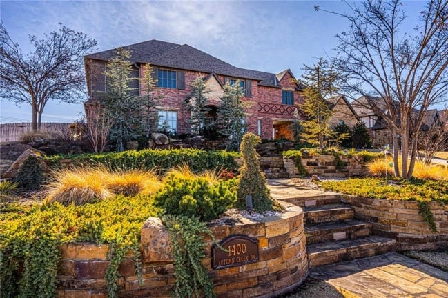The Listing of the Week is at 1400 Autumn Creek Drive, Edmond. [PHOTO PROVIDED]