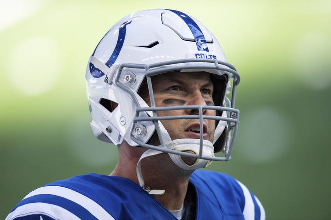 Indianapolis Colts quarterback Philip Rivers announced his retirement Wednesday after 17 seasons in the NFL. [AP Photo/Zach Bolinger, File]