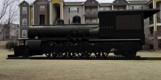 With funding from the first Oklahoma Wonder Grant, people will have the chance to immerse themselves in Oklahoma's historic black towns with a ride on this augmented reality train that's currently in development. The next round of Wonder Grant funding is taking applications to connect a local business, nonprofit or public sector entity with an online learning solution. [TREY SCHEURER/TRIFECTA]
