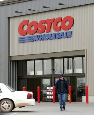 Costco saw sales increase 21% in the first quarter of 2020, according to Price Edwards & Co. Shown is Costco at 13200 N Western Ave. [BRYAN TERRY/THE OKLAHOMAN]