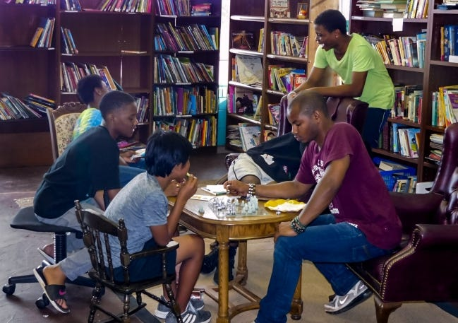 Nappy Roots Bookstore has served as a spot for tutoring and mentoring in northeast Oklahoma City and is the city's only Black-owned book shop. [PROVIDED]