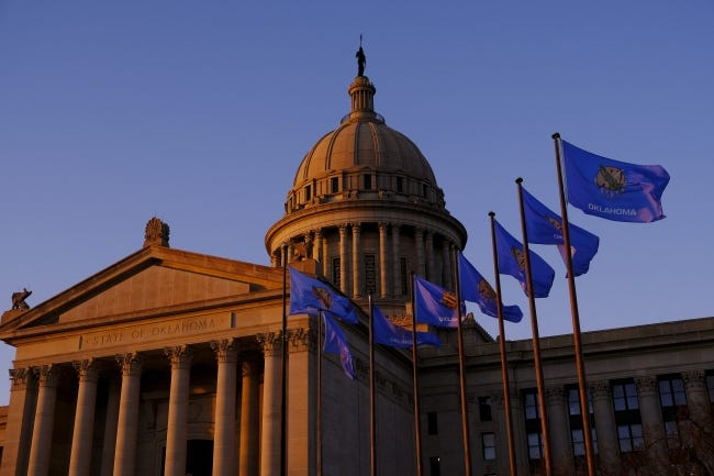 Oklahoma lawmakers will return to the state Capitol on Monday. [Doug Hoke/The Oklahoman]