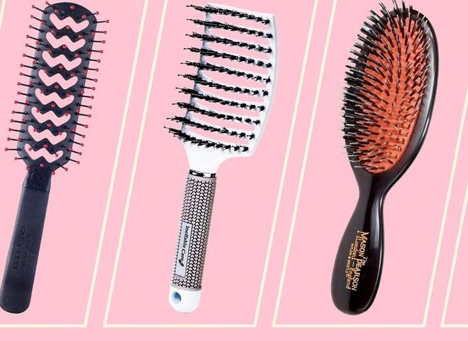 Hairbrushes should be replaced between six months to a year.