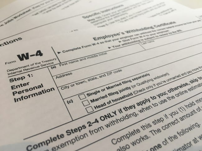 When filing tax returns this year, make sure to include income from unemployment benefits. [ASSOCIATED PRESS]