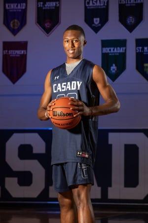 D.J. Freeman, Casady boys basketball [Photo provided]