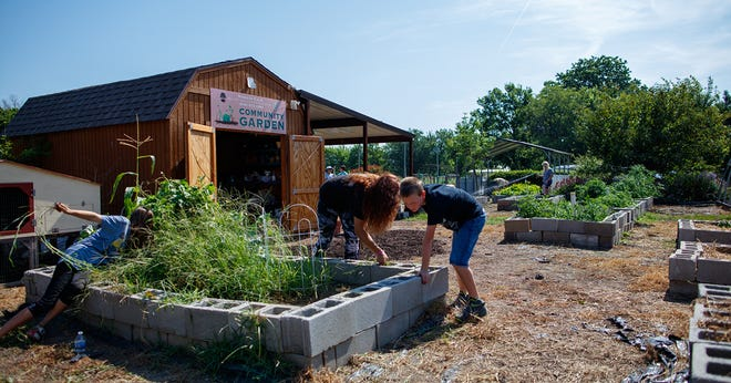 The TSET Healthy Living Program awarded grant funding to build a community garden in Nowata. [PROVIDED]