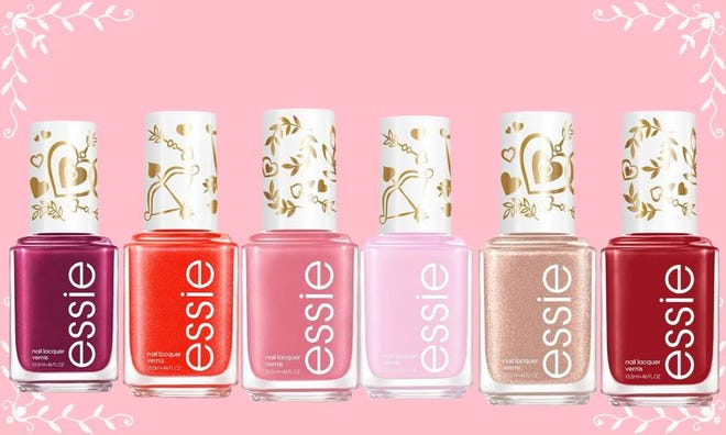 Essie's new Valentine's Day nail polish collection.