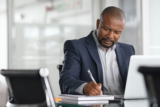 If working from home long-term has you feeling sluggish and unproductive, get back to your regular schedule. Maintaining a sense of normalcy can help get you out of the rut. [STATEPOINT PHOTO]