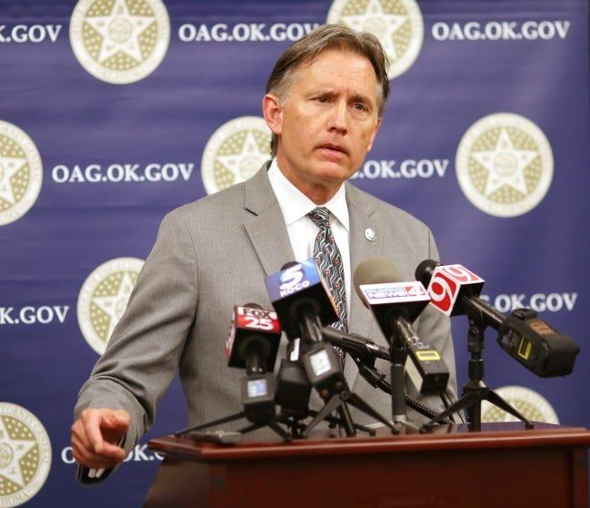 Oklahoma Attorney General Mike Hunter. [Doug Hoke/The Oklahoman]