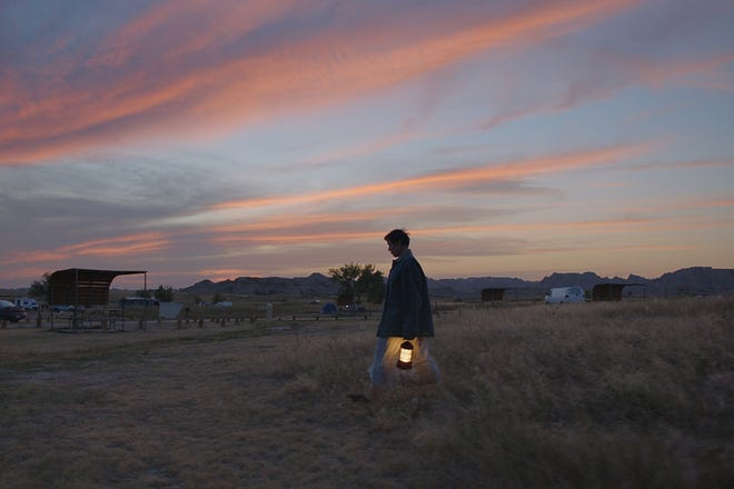 """Frances McDormand stars in Oscar front-runner """"Nomadland."""" [Searchlight Pictures photo]"""