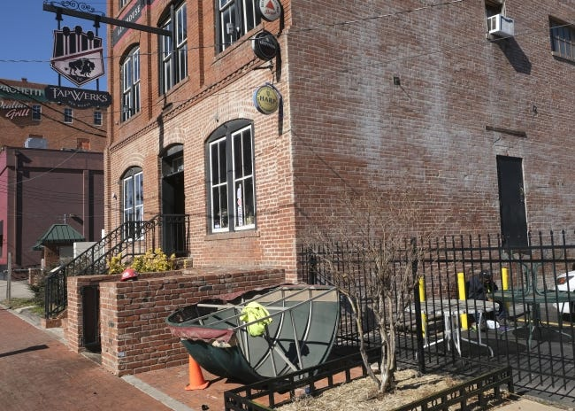 TapWerks is set to be renovated and will reopen as a bar and restauruant. The longtime Bricktown pub was hit hard by the pandemic and closed in October. [DOUG HOKE/THE OKLAHOMAN]