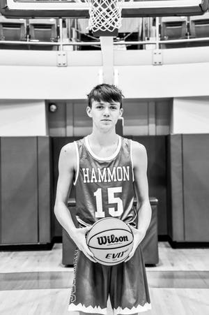 Hammon sophomore guard Michael Land died Thursday in a car crash. He was 16. [Photo provided]
