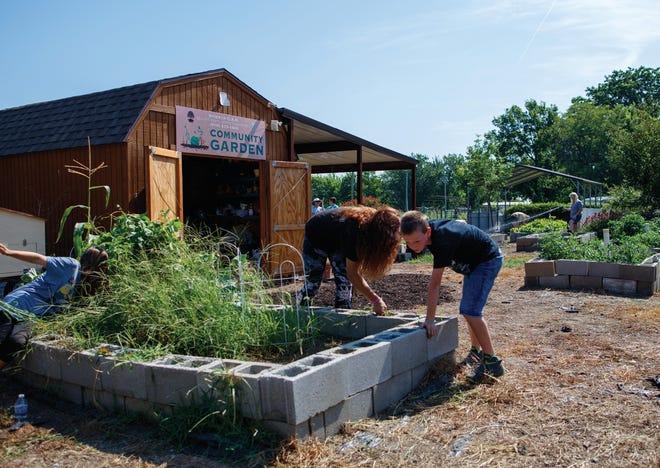 The TSET Healthy Living Program awarded grant funding to build a community garden in Nowata. [PROVIDED]