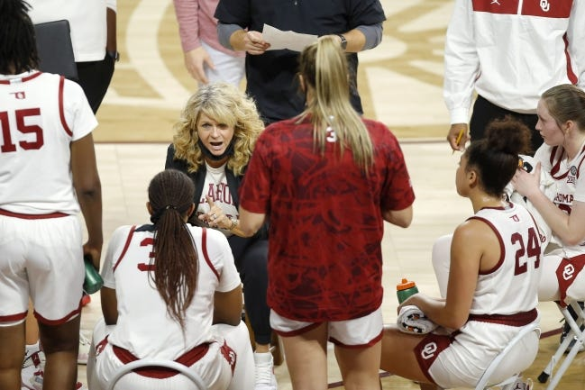 Coach Sherri Coale's Sooners lead the Big 12 and are No. 9 nationally in 3-point field goal percentage at 38.8%. [Bryan Terry/The Oklahoman]