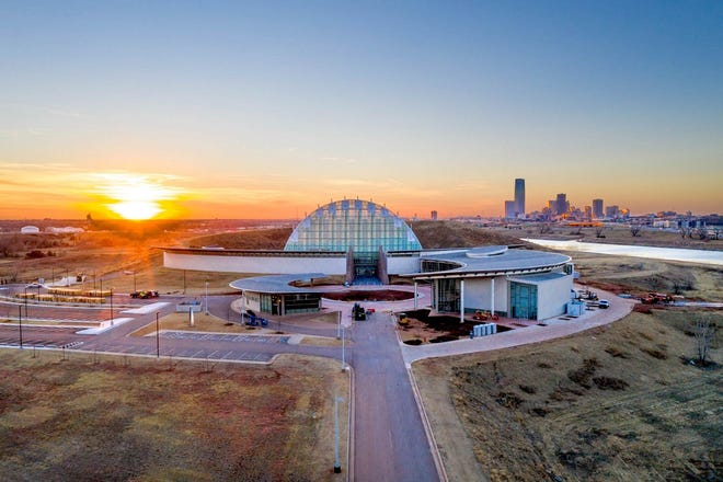 The long-awaited First Americans Museum, situated southeast of the I-35/I-40 interchange near downtown Oklahoma City, is set to open in September. [Lori Duckworth/Oklahoma Tourism]