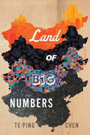 """This cover image released by Houghton Mifflin Harcourt shows """"Land of Big Numbers"""" by Te-Ping Chen. (Houghton Mifflin Harcourt via AP)"""