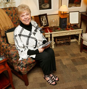 Oklahoma City University vocal professor Florence Birdwell is pictured at her home at Spanish Cove in Yukon, Okla., Wednesday, May 20, 2015. [The Oklahoman Archives]