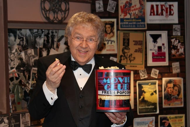"B.J. Wexler, longtime host of the ""OETA Movie Club,"" died Feb. 10. he was 83. [Photo provided]"