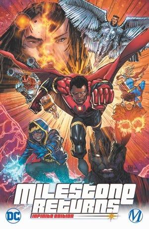 "The cover for ""Milestone Returns"" #0. [Milestone/DC Comics]"