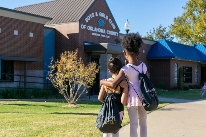 OKC Ballet partners with Boys & Girls Club to offer afterschool ballet instruction. [Jana Carson]